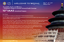 12th IAAS International Congress - Beijim